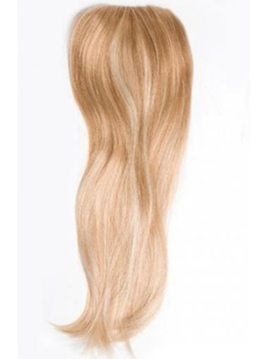 Posticci Clip-in moda 100% capelli naturali Biondo Liscia