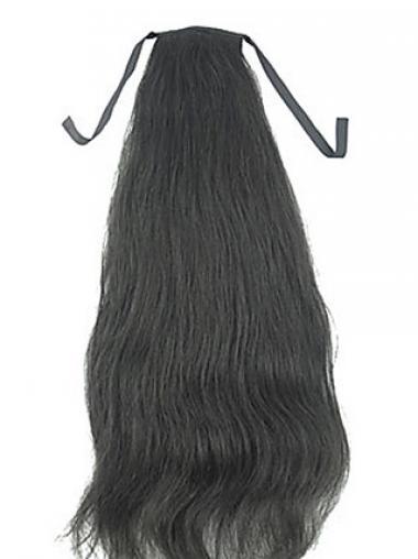 Code insolente Nero 100% capelli naturali