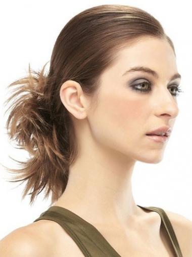 Chignon progettato Castano 100% capelli naturali