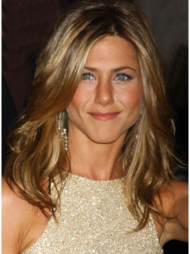 Parrucche Jennifer Aniston Lungo Mossa Macchina squisito