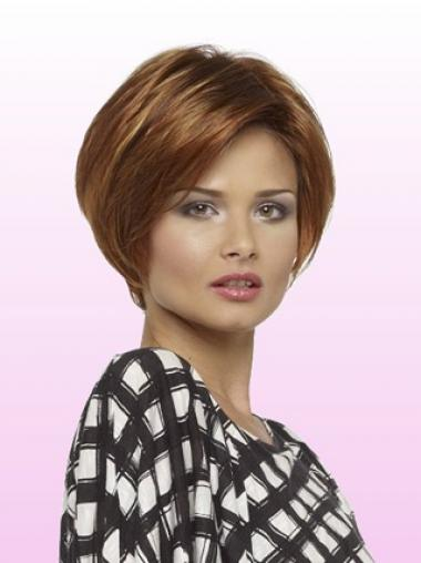 Parrucca Caschetto 100% capelli naturali Liscia