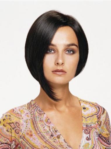 Parrucca Caschetto 100% capelli naturali adatto Liscia