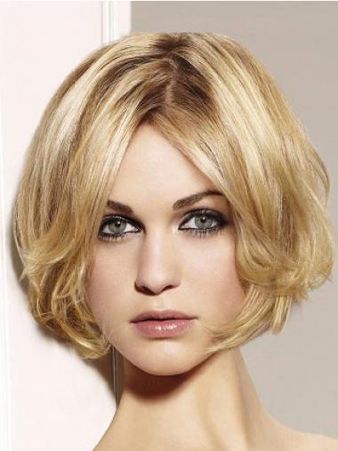 Parrucca Caschetto 100% capelli naturali acconciature Mossa