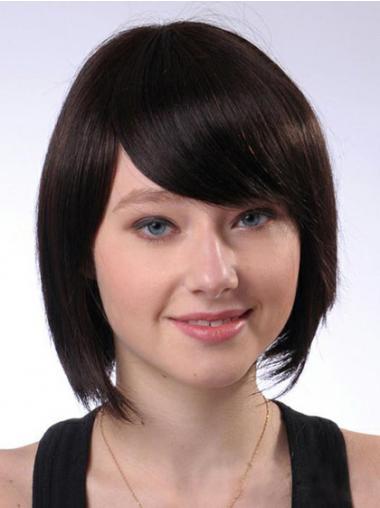 "Parrucche Naturali incredibile 10"" Macchina Liscia"