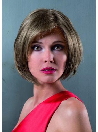 Parrucca Caschetto 100% capelli naturali Affordable Liscia