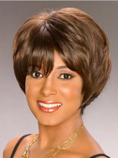 """Parrucche Afroamericano popolare Caschetto 8"""""""