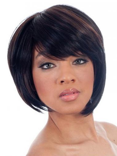 "Parrucche Afroamericano Liscia Macchina 8"" progettato"
