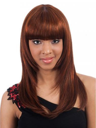 "Parrucche Afroamericano Liscia Macchina 20"" stupefacente"
