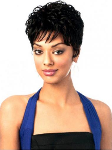 "Parrucche Afroamericano Mossa Macchina 6"" favoloso"