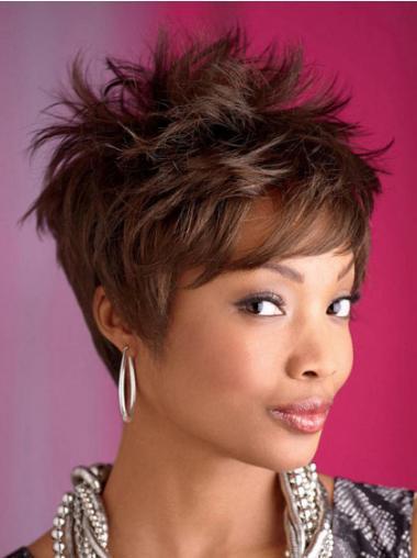 "Parrucche Afroamericano Mossa Macchina 8"" Cheapest"