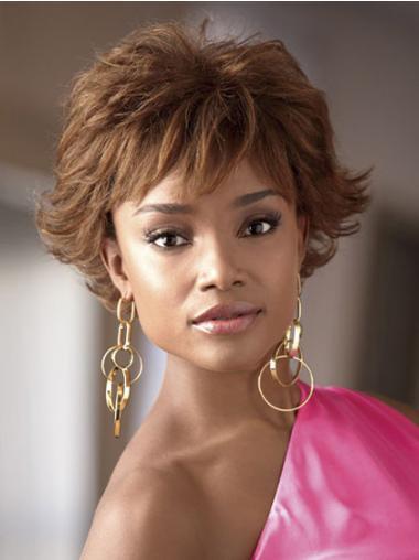 """Parrucche Afroamericano Mossa Macchina 4"""" insolente"""