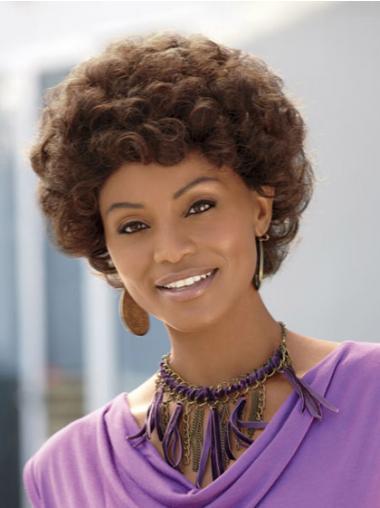 "Parrucche Afroamericano Riccia Macchina 8"" incredibile"