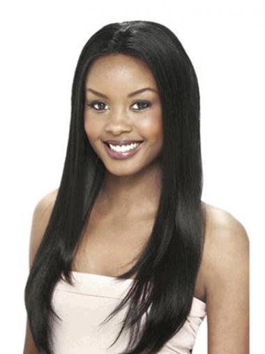 "Parrucche Afroamericano sconto 24"" Liscia"