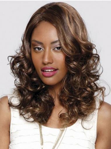 "Parrucche Afroamericano flessibilità Senza Frangia 16"""