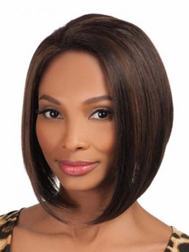 "Parrucche Afroamericano insolente Senza Frangia 10"""