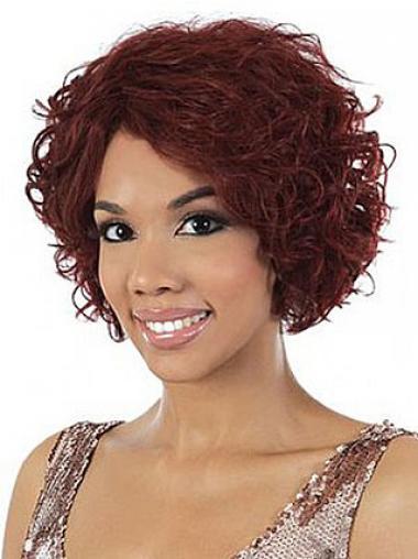 "Parrucche Afroamericano 10"" nuovo Senza Frangia"