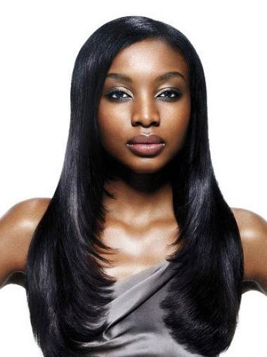 "Parrucche Afroamericano Liscia Macchina 22"" insolente"