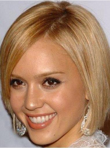 Parrucca Caschetto 100% capelli naturali stile Liscia
