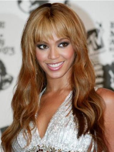 "Parrucche Beyonce Castano Dorato 20"" Cheapest Mossa"
