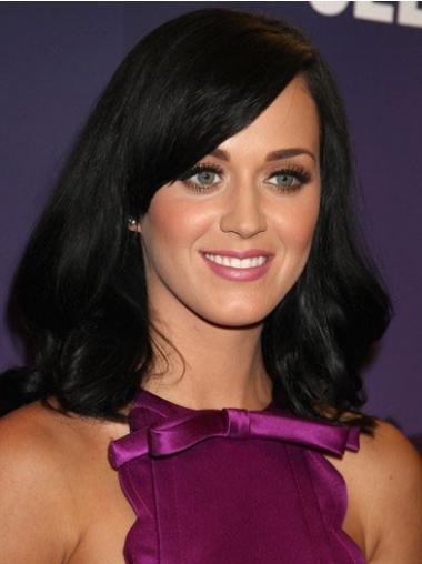 Parrucche Katy Perry Altezza di Spalle Liscia Monofilamento