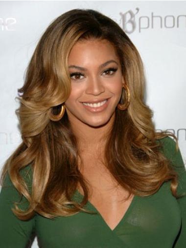 "Parrucche Beyonce Castano 18"" Affordable Mossa"