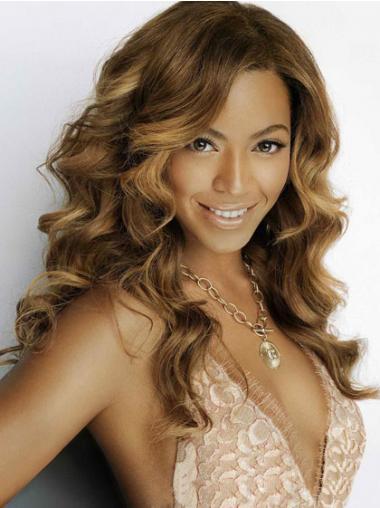 """Parrucche Beyonce Castano 18"""" stupefacente Mossa"""