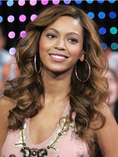 """Parrucche Beyonce Castano 18"""" sconto Mossa"""