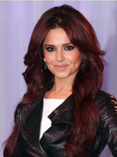 "Parrucche Cheryl Cole Rosso 20"" Mossa"