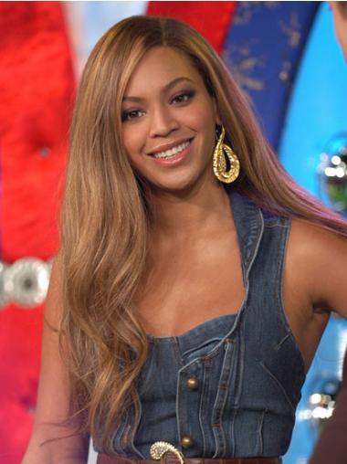 "Parrucche Beyonce Castano 22"" adatto Mossa"