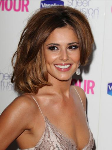 """Parrucche Cheryl Cole Castano 12"""" migliore Mossa"""
