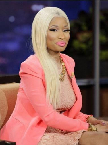 "Parrucche Nicki Minaj ideale 22"" Tulle Cinema Liscia"