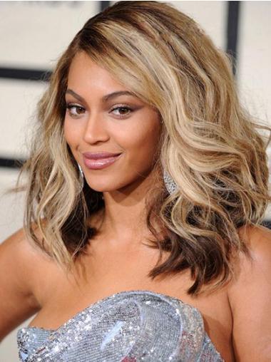 "Parrucche Beyonce Biondo 14"" elegante Mossa"