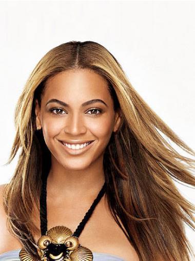 "Parrucche Beyonce Castano 24"" migliore Liscia"