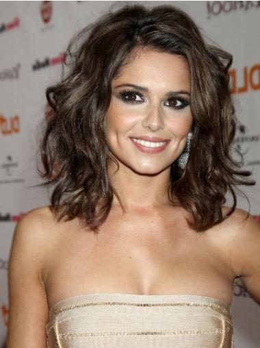 """Parrucche Cheryl Cole Castano 14"""" adatto Mossa"""