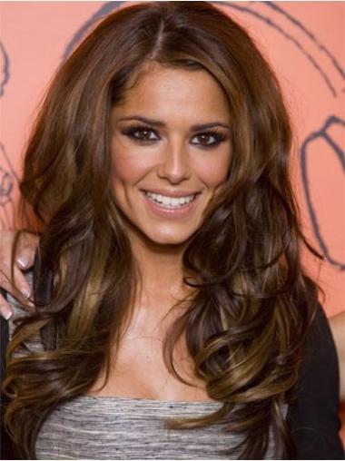 """Parrucche Cheryl Cole Castano 24"""" nuovo Mossa"""