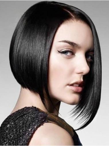 Parrucca Caschetto 100% capelli naturali moda Liscia
