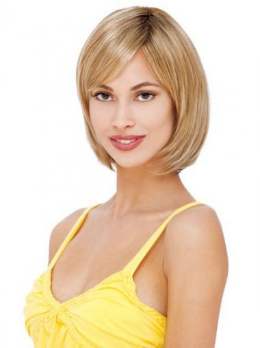Parrucca Caschetto 100% capelli naturali Cheapest Liscia