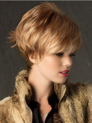 Parrucche Corte Sintetici Liscia migliore