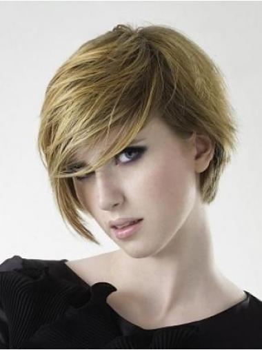 "Parrucche Corte 6"" Biondo naturale"