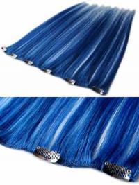 Extension Clip-In elegante Nero 100% capelli naturali