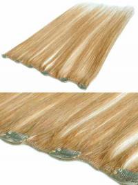 Extension Clip-In acconciature Biondo 100% capelli naturali