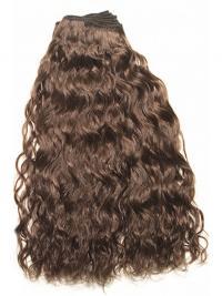 Extension perfetto Castano 100% capelli naturali