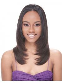 """Parrucche Afroamericano sfarzoso 14"""" Liscia"""