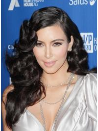 Parrucche Kim Kardashian Lungo Riccia Tulle Cinema progettato