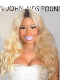 """Parrucche Nicki Minaj Superiore 22"""" Macchina Mossa"""