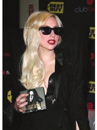 """Parrucche Lady Gaga perfetto 20"""" Stratificato Mossa"""