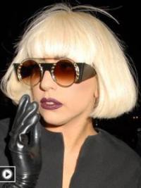 """Parrucche Lady Gaga sconto 10"""" Caschetto Liscia"""