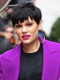 Parrucche Jessie J Corto Liscia Macchina grande