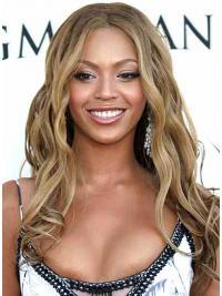 "Parrucche Beyonce Biondo 16"" Di tendenza Mossa"