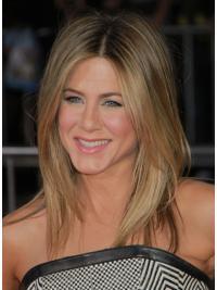 Parrucche Jennifer Aniston Altezza di Spalle Liscia Macchina moda